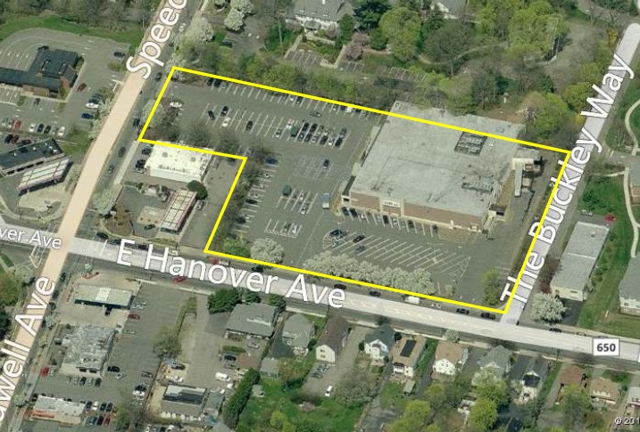 329 Speedwell Ave Acme building and parking lot site plan