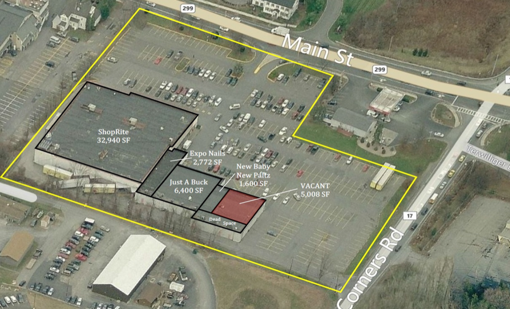 New Paltz shopping mall site plan - MCB Real Estate